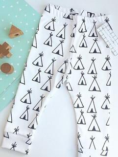 High Quality Tent Printed Children Harem Pants