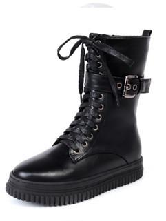 Wholesale Fashion Round Toe Women Boots Cheap