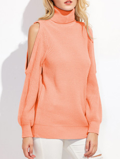 New Arrival Off The Shoulder Knitting Sweater Pullover