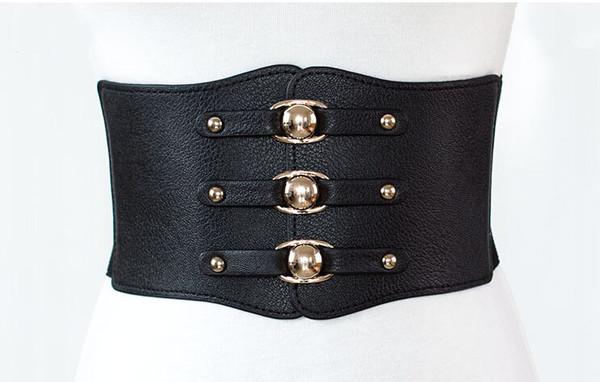 Euro Fashion Elastic Rivet Belts