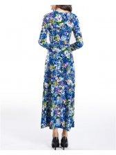 Fall Fashionable Vintage Floral Maxi Dresses