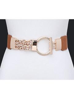Euro Fashion PU Alloy Women Belts