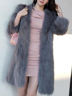 Korean Thicken Mink Coat Cardigan