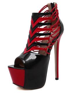 Peep Toe High Heels Women Pumps