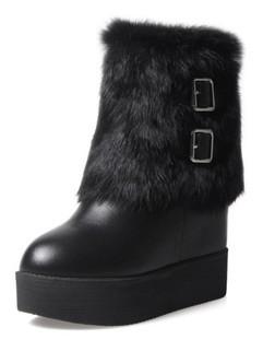 Round Toe Women Winter Boots