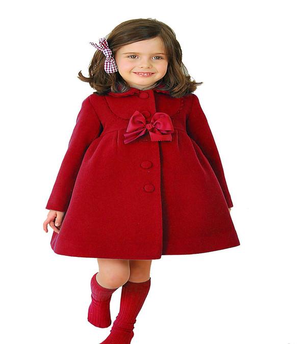 Korean Solid Baby Outerwear Coat