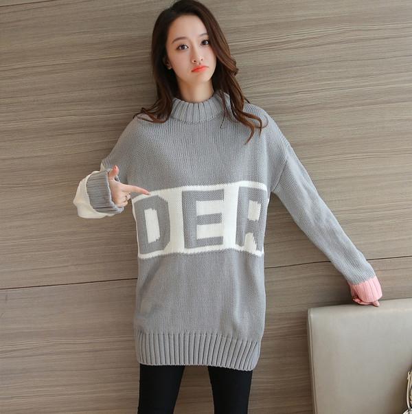 Oversized Women Pullover Sweater Design