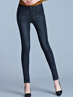High Waist Pencil Jeans Design