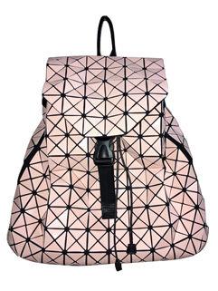 Wholesale Fashion Rhombus Pattern Hasp Backpack
