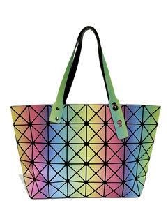High Quality Rhombus Pattern Shoulder Bag