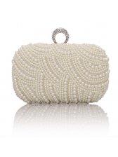 Hot Sale Euro Pearls Decor Clutch Bags