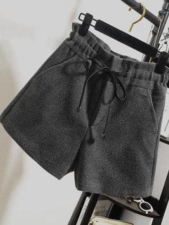 Winter Bandage Short Pants Bottom