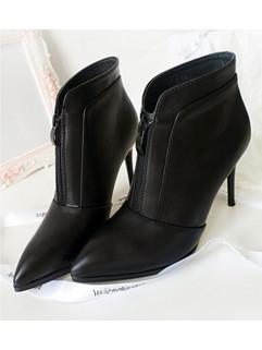 Pointed Toe Footwear Women Ankle Boots