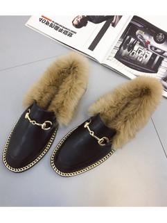 Korean Footwear Women Black Flats