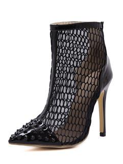 Rivet Stilettos Women Sexy Boots