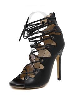 Peeptoes Spring Shoes Women Sandals
