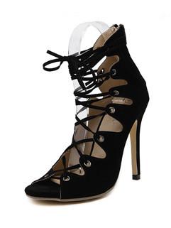High Heel Women Sandals Spring Shoes