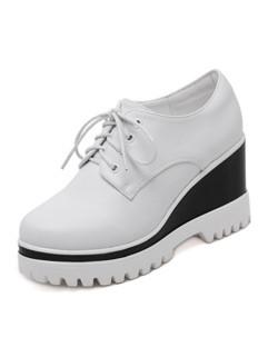 Round Toe Women Flat Shoes