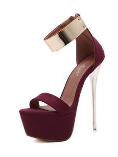 Sexy Peeptoes Stiletto Women Sandals
