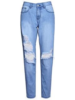 Newest Ripped Girls Jeans Denim