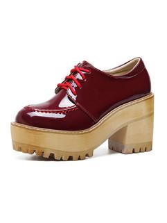 Newest Round Toe Women Platform Shoes