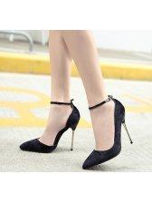 Solid Stilettos Women Pumps Footwear