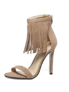 Tassel Women High Heel Sandals Shoes