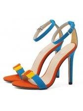 Stiletto Women Blue Sandals