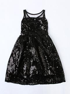 Sequin Sleeveless Baby Dress