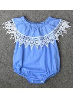 Ruffle Pullover Baby Onesie