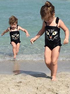 Print Baby Swimwear Onesie