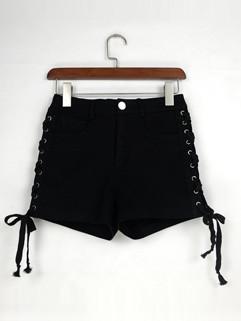 High Waist Fitted Women Hot Pants