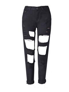 Hot Sale Ripped Women Jeans Pants
