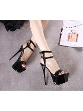 Platform Women Stilettos Sandals Shoes