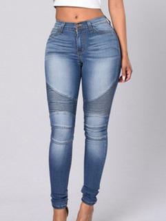 High Waist Women Skinny Jeans
