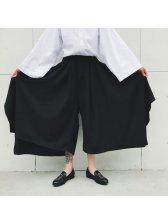 New Design Men Harem Black Pantskirt