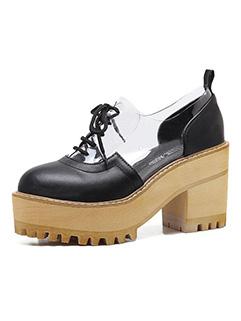 Vintage Round Toe Women Flat Shoes