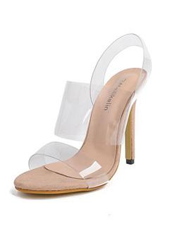 Transparent Stiletto Women Sandals