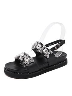 Diamond Platform Sandals For Girls