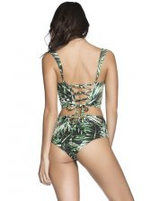 Print Under Wire Bikini Ladies Swimsuits