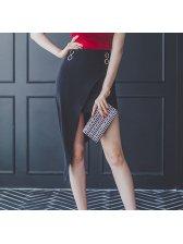 Modest Asymmetrical Wrap Skirt Design