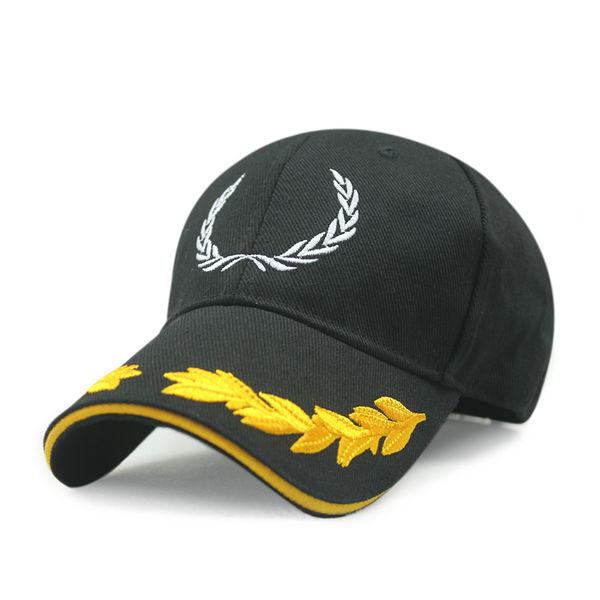 Cheap Leaf Embroidery Baseball Hats