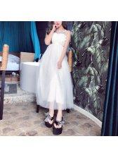 Lace Patchwork Floral Beautiful Dresses