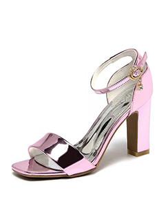 Solid Fashion Shoes Ladies Sandals
