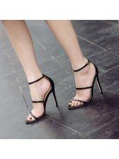 Summer Thin Straps Stiletto Sandals