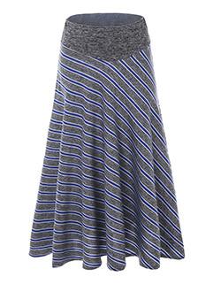 Bohemian Print Midi Woman Skirt