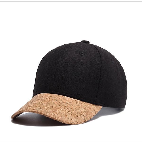 Cheap Color Block Black Casquette Cap