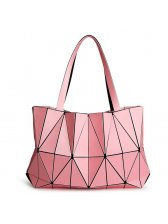 Chic Diamond Geometric Pattern Woman Tote Bag