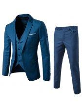 Three Piece Set Long Sleeve Fashion Men Suits