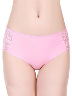 Sexy Lace Patch Women Seamless Panties